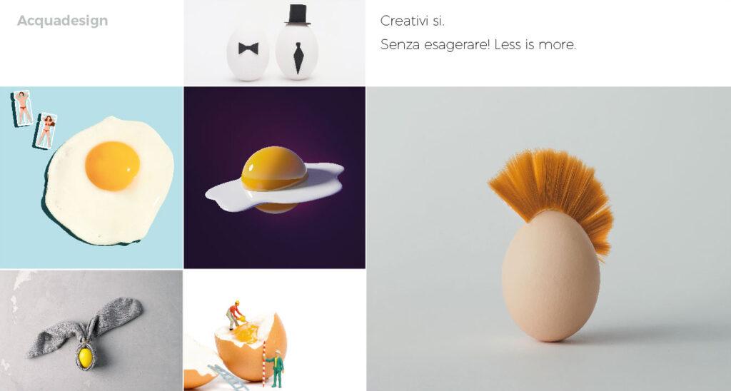 creatività uovo Pasqua